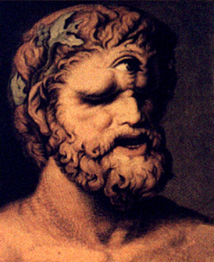 Одиссей и циклоп Полифем