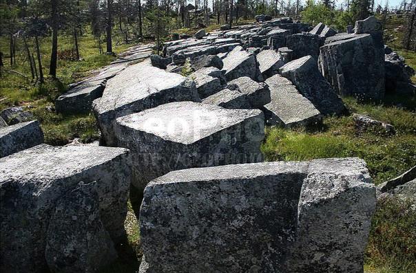"""""""Амфитеатр"""" на верхнем плато Воттоваары"""