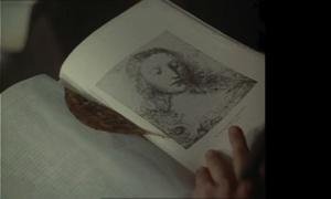 "ЛЕОНАРДО ДА ВИНЧИ. Голова Христа к ""Тайной вечере"". XV век."