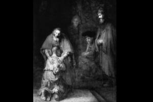 """Рембрандт ван Рейн. """"Возвращение блудного сына"""". 1668-1669. Эрмитаж, Санкт-Петербург. В течение своей жизни я стояла возле этой картины столько раз, что часы протекли. Сколько Добра и Света излучает встреча, сколько поддержки дарит нам..."""