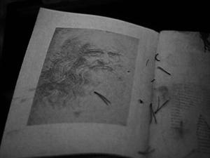 ЛЕОНАРДО ДА ВИНЧИ. Туринский автопортрет. После 1512 года.