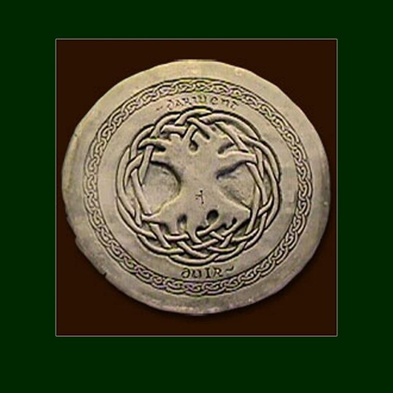 Друидское Древо Жизни - разнонаправленное и связанное воедино взаимным отражением