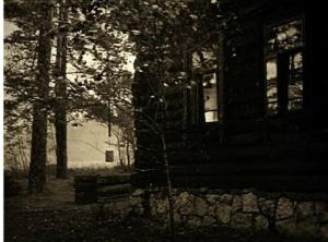 Дом деда, когда в нем жила семья в ее счастливую и не счастливую пору...