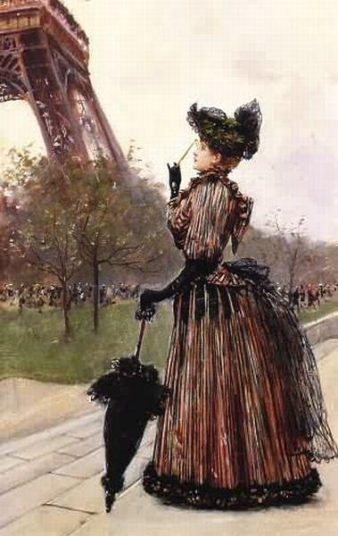 Э́йфелева ба́шня — самая узнаваемая архитектурная достопримечательность Парижа, всемирно известная как символ Франции, названная в честь своего конструктора Густава Эйфеля.