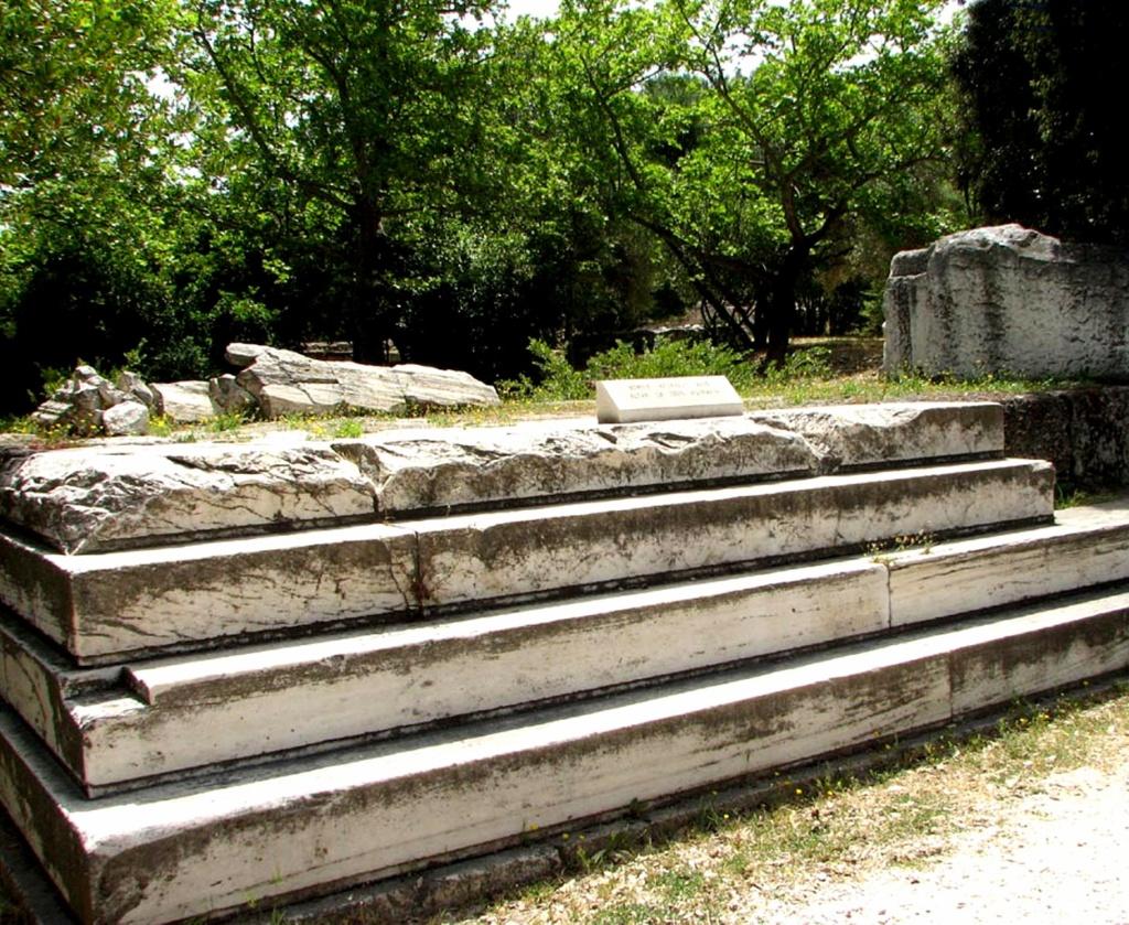 Афины. Агора. Алтарь Зевса Агорея. IV век до н. э.
