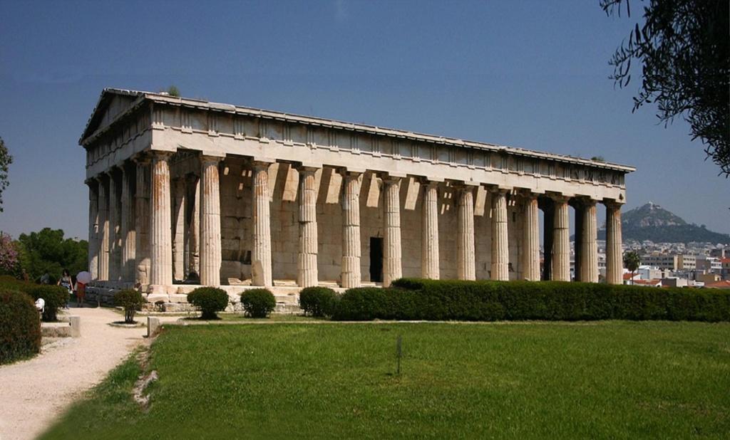 Афинская агора. Храм Тесейон или Гефестион. 449 год до н.э.