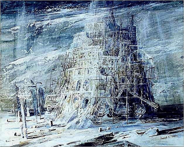 "Зима. ""Вавилонская башня"". Александр Бровин"
