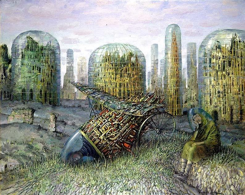 """Вавилонская башня"". Александр Бровин"