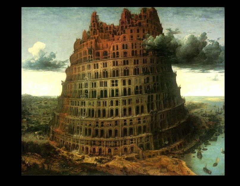 """Питер Брейгель Старший. """"Малая"""" Вавилонская башня (Третья). 1564"""