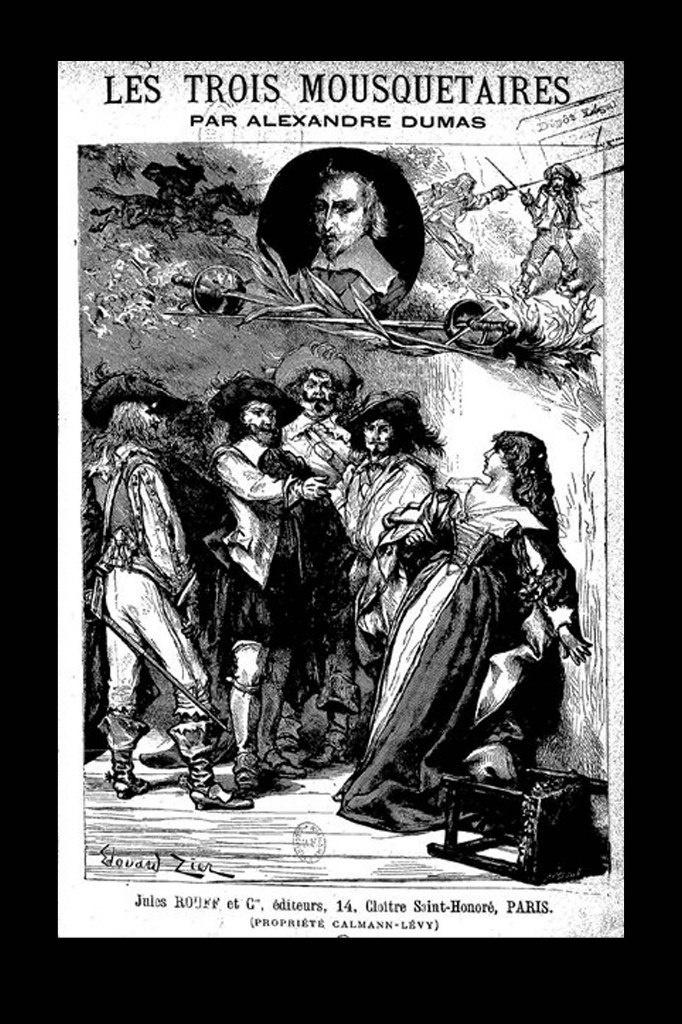 """История, рассказанная Дюма, посвящена приключениям д'Артаньяна и его друзей в период между 1625 и 1628 годами То - так называемое """"ВРЕМЯ МУШКЕТЕРОВ""""..."""