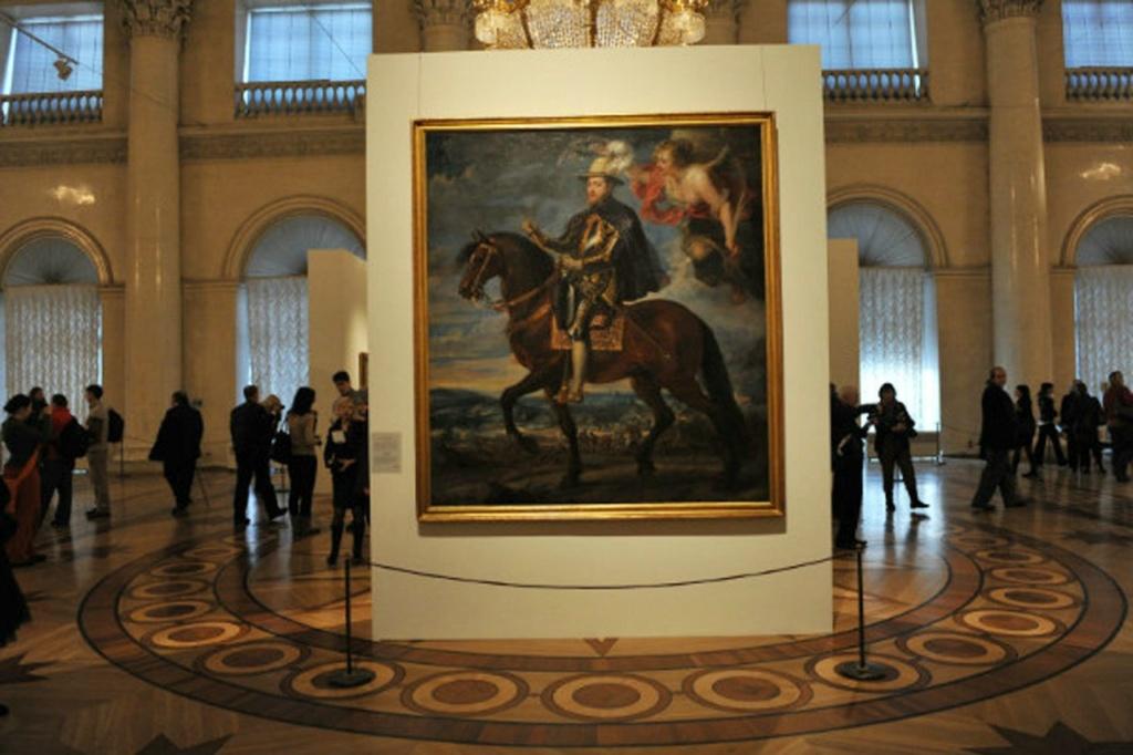 Питер Пауль Рубенс. Портрет короля Филлипа II. В 1628 году Рубенс посетил Мадрид с дипломатической миссией и получил заказ на написание «Конного портрета Филиппа II». Это полотно было создано во славу монарха, уж тридцать лет как почившего в могиле.