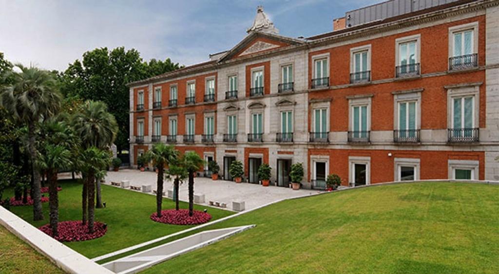 Музей Тиссена-Борнемисы в Мадриде., неподалеку от Прадо.