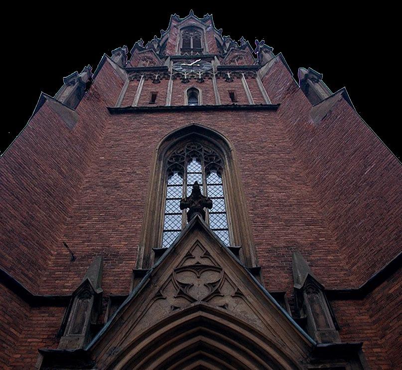 Старая Рига. Место кладбища, где в Средние века хоронили умерших  от чумы. Церковь, построенная по проекту архитектора Иоганна Фелско  в 1868 году, и ее покровительница св. Гертруда по сю пору оберегают  страшную гекатомбу. Фото Марины Бреслав