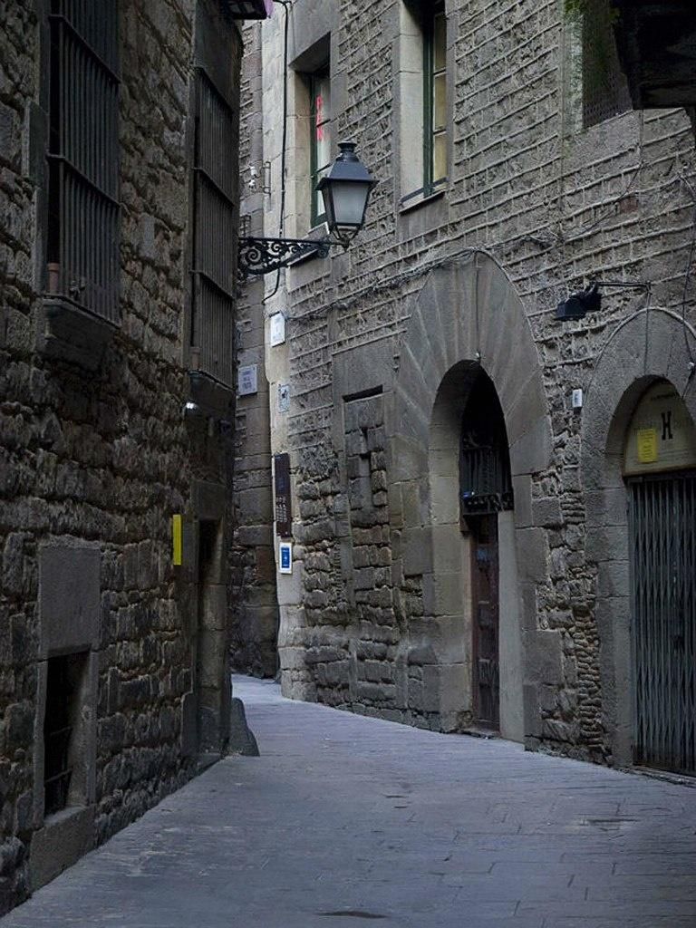 Барселона. Средневековый Еврейский квартал.