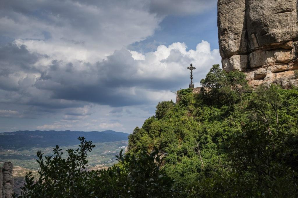 Священная гора Каталонии Монтсеррат..