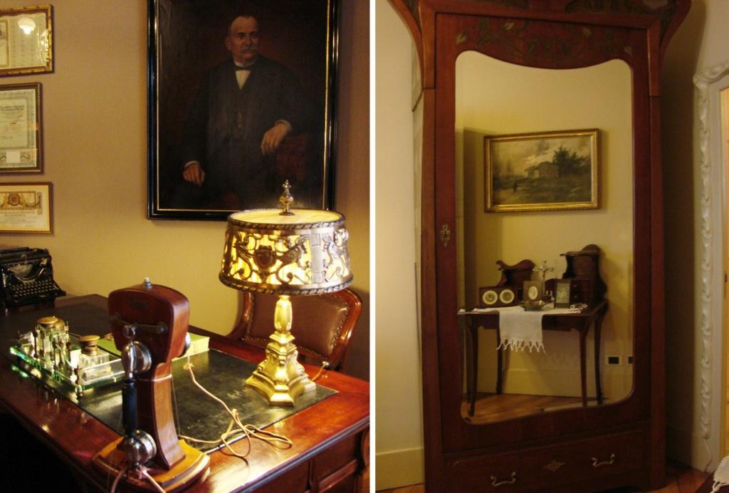 Каса Мила. Квартира на шестом этаже здания, что оформлена в стиле 20-х годов XX века и демонстрируется посетителям во время экскурсий...