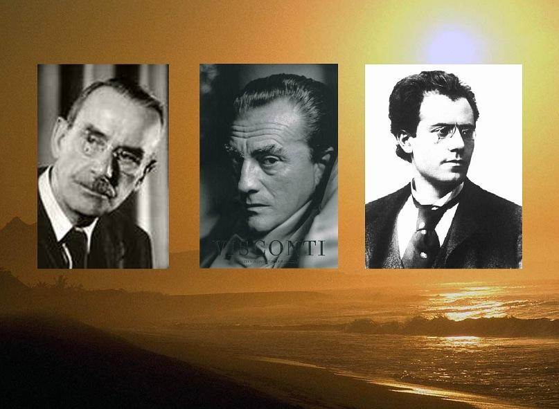 Три великих человека - Томас Манн, Лукино Висконти, Густав Малер - не могут не помочь нам понять образа, душу и дух Венеции...