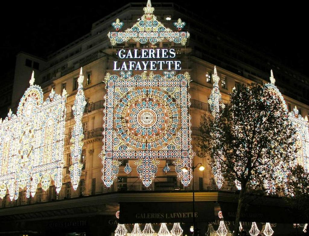 «Галерея Лафайетт» в Париже...