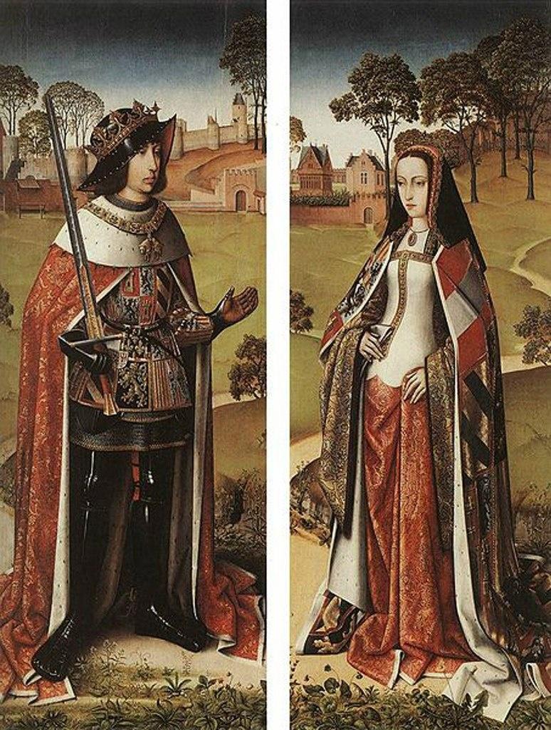 Хуана I Безу́мная ( 1479 — 1555) — королева Кастилии с 1504, номинально — до своей смерти. Супруга герцога Бургундского Филиппа Красивого. После его смерти сошла с ума, была заключена в монастырь, за неё правили отец и старший сын.