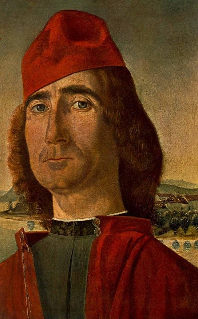Витторе Карпаччо. Портрет неизвестного мужчины в красном берете. 1493 год.