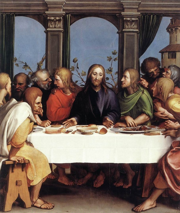 "Ганс Гольбейн Младший.""Тайная вечеря"". 1524-1525."