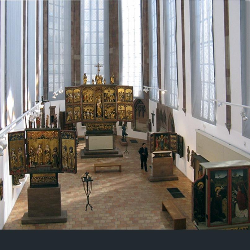 Исторический музей Базеля, расположенный в здании бывшей францисканской церкви - Барфюссеркирхе