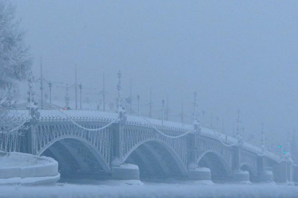 Троицкий мост – ажурный (из металлических решетчатых ферм), пятипролетный, с каменной эстакадой на правом берегу. Один пролет разводной. Ширина моста – 24 м. Длина – 582 м. Открытие состоялось в 200-летие Петербурга: в мае 1903 г.