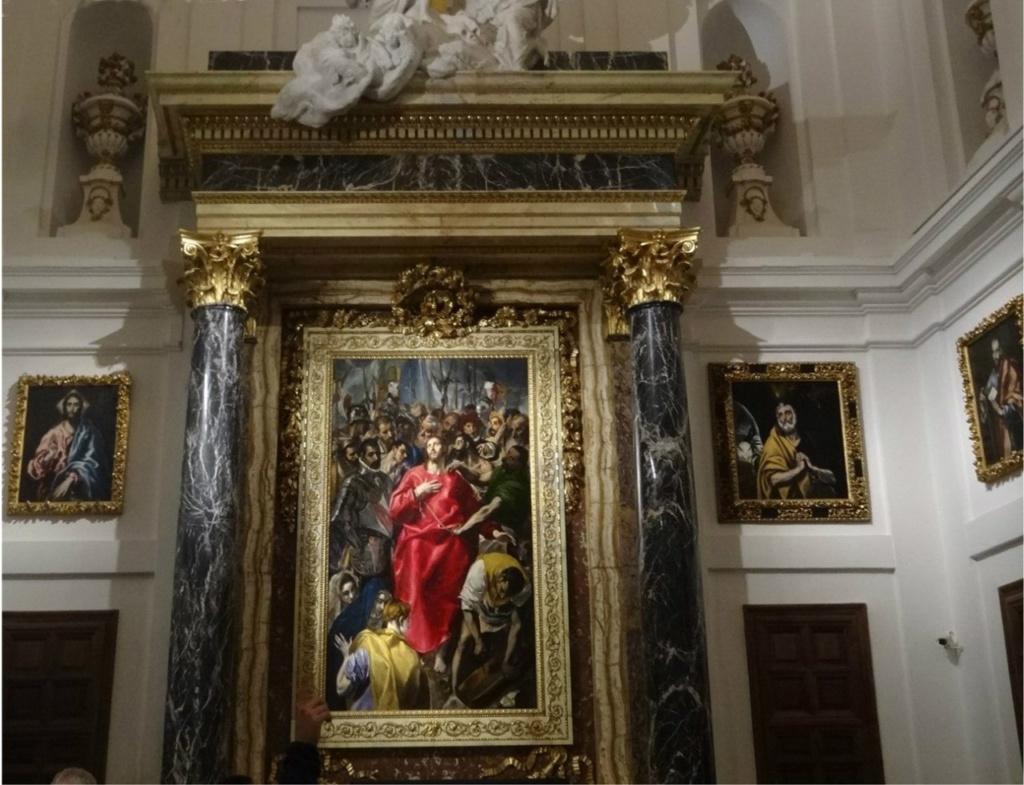 Толедский собор. Ризница. Эль Греко. «Эсполио» («Снятие одежд с Христа»). 1579 год.