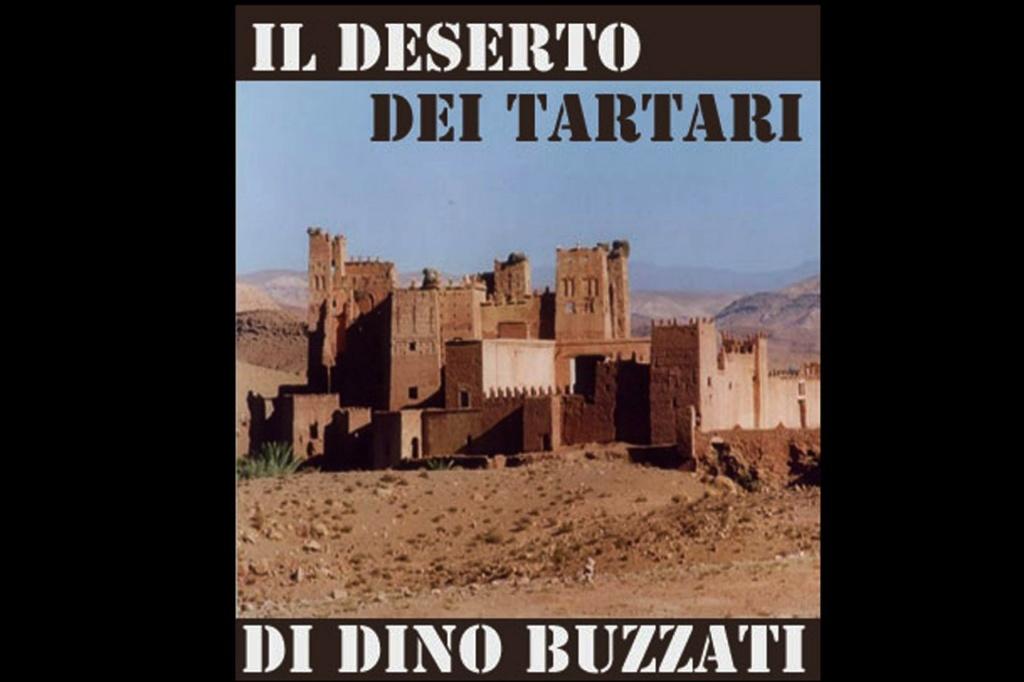 """Фильм Валерио Дзурлини """"Татарская пустыня"""" снят в 1976 году по одноименному роману Дино Буццати, написанному в 1940. Экранизации в сравнении с книгой чаще всего разочаровывают. Только не эта - составляющая великолепный дуэт с романом."""