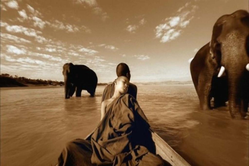 Где это происходит? Во сне, который видят люди и животные. Когда это происходит? В далеком Прошлом или Будущем: сны не заботятся о пространственно-временных уточнениях...