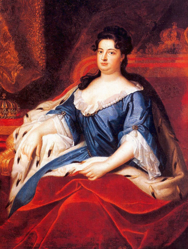 МАТЬ ГЕРОЯ - София Шарлотта Ганноверская (1668 - 1705). В 1701 году София Шарлотта стала первой королевой Пруссии. Она владела французским, английским, итальянским языками  и, как и её мать, водила дружбу с Готфридом Лейбницем.