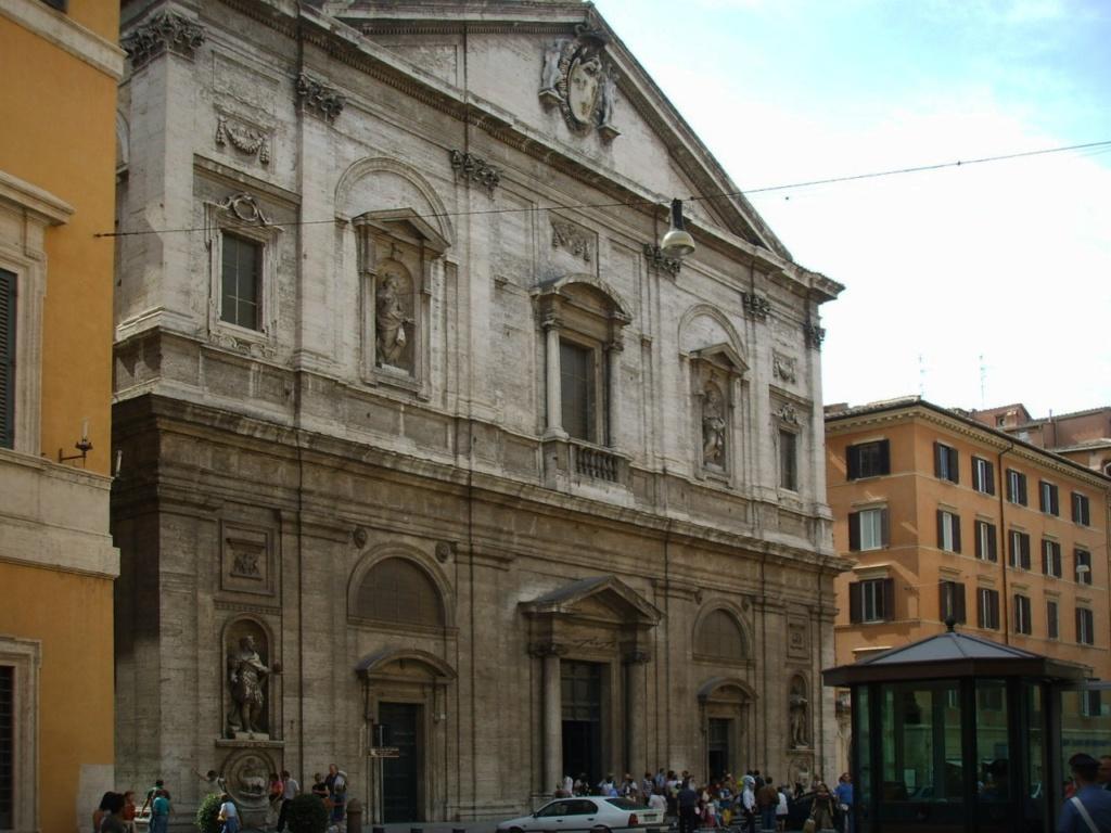 Церковь Сан-Луиджи-деи-Франчези в Риме. Вход свободный - приглашаю...м