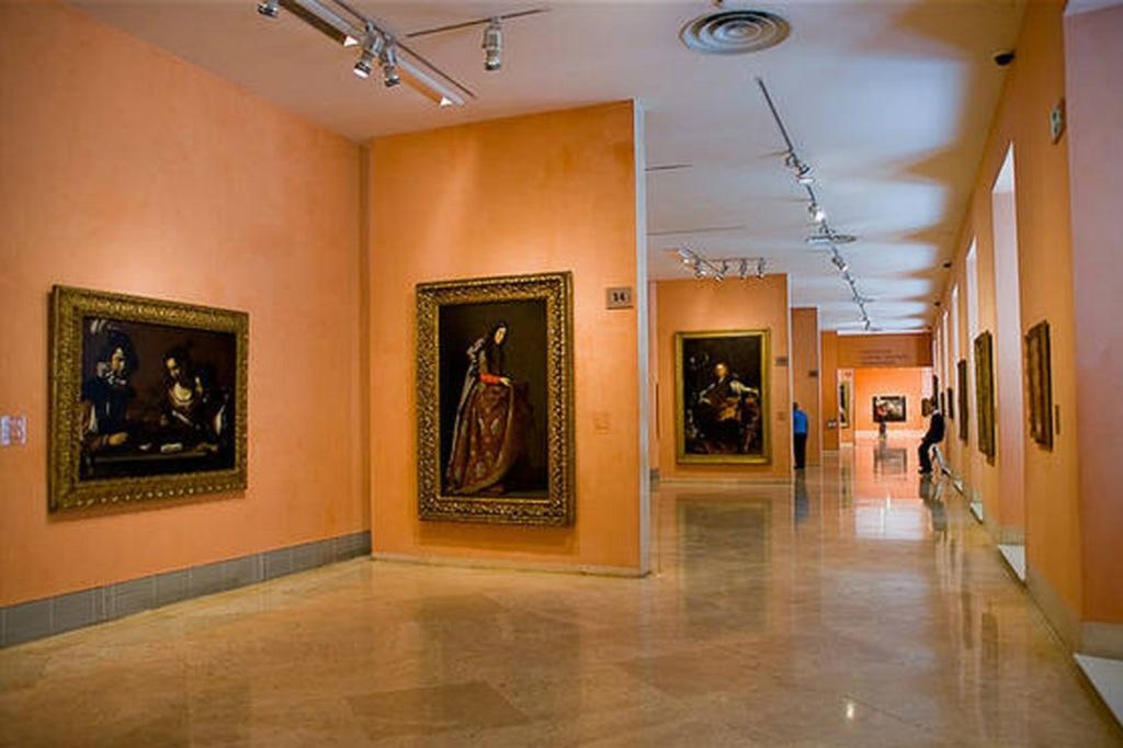 Экспозиционные залы музея Тиссена-Борнемисы.