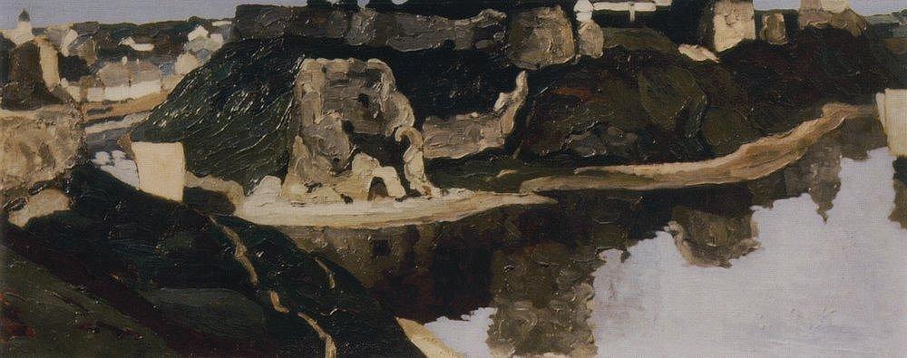 Н. К. Рерих. Псков. Общий вид. 1900-е