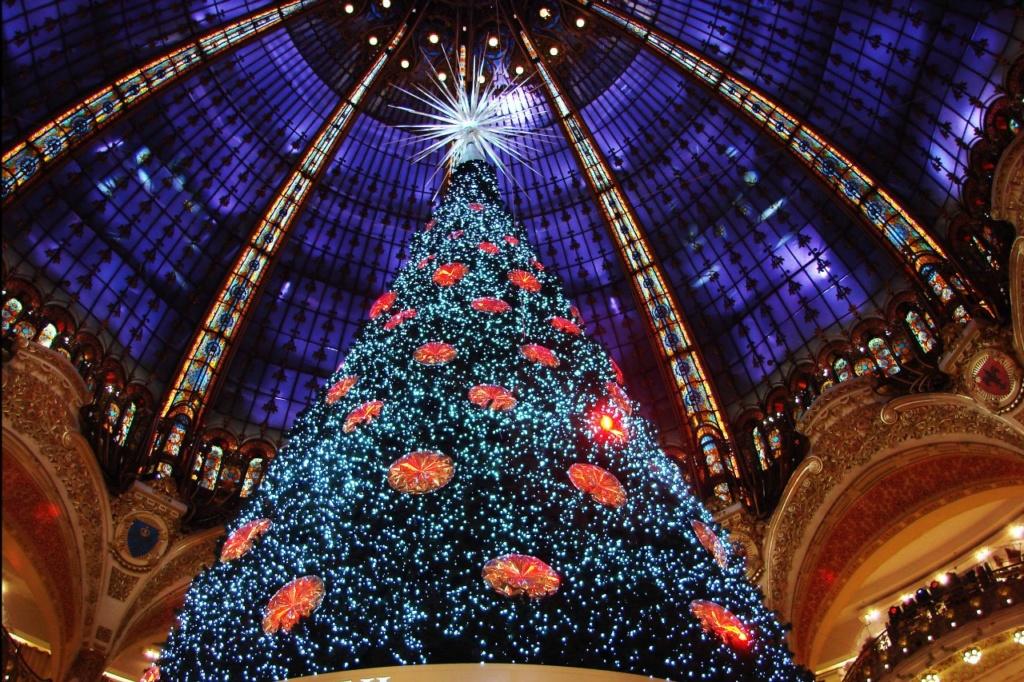 Фотографии Марины Бреслав, сделанные ею в ноябре 2012 года, когда Париж уже вовсю готовился к предстоящим праздникам...
