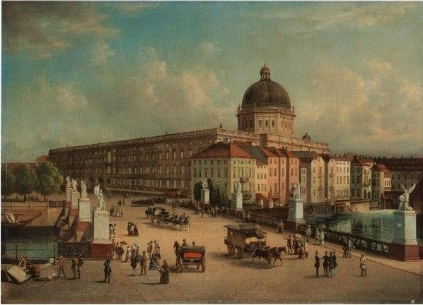 Городской дворец в Берлине (снесен в 1950).