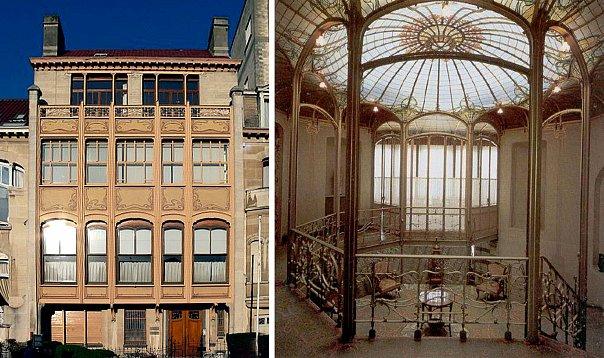 Брюссель. Отель ван Этвальде. Арх. Виктор Орта. 1893