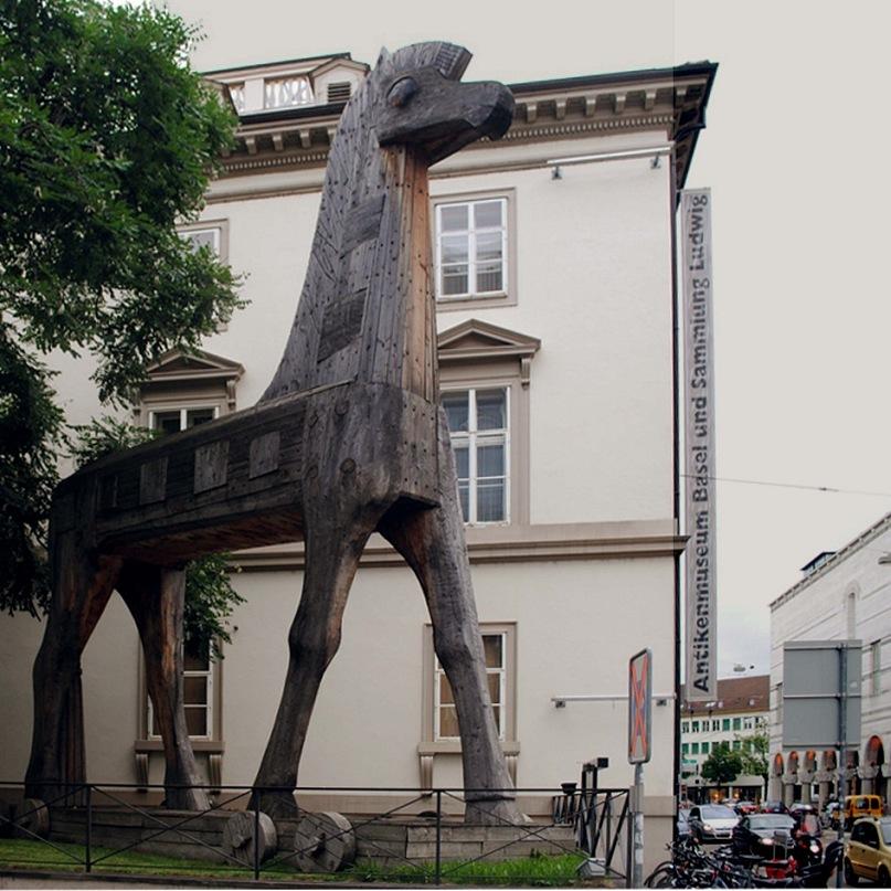 В Базеле есть все. Троянский конь в Базеле есть тоже...
