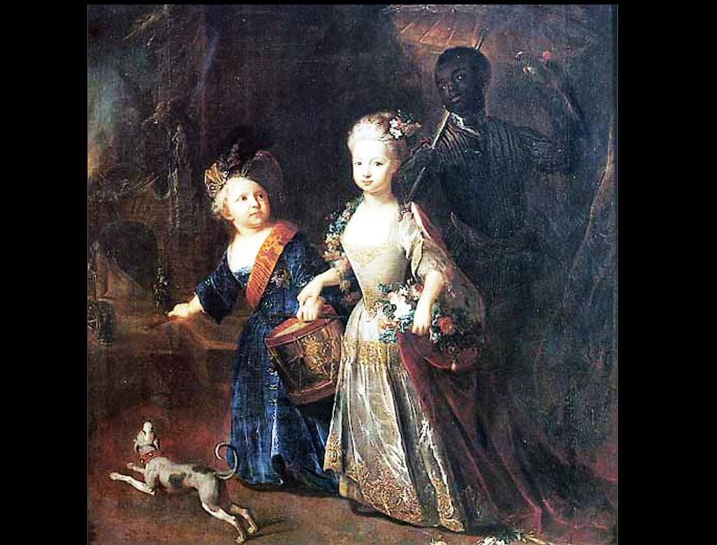 ДЕТИ ГЕРОЯ - Вильгельмина и Фридрих II. Фредерика София Вильгельмина Прусская (1709— 1758). Фри́дрих II, или Фридрих Великий (1712 -1786) —  король Пруссии с 1740 года.