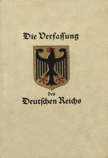 Конституция Веймархской республики