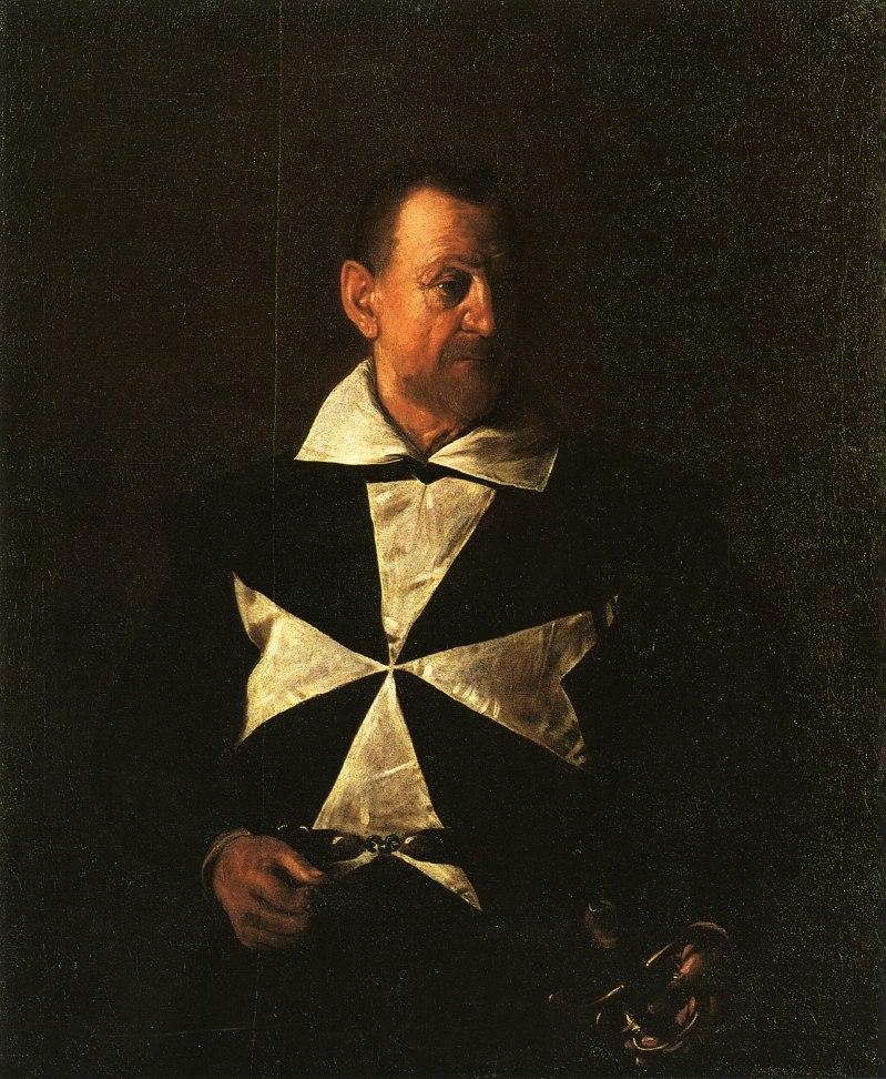 КАРАВАДЖО Алоф де Виньякур, 1608.