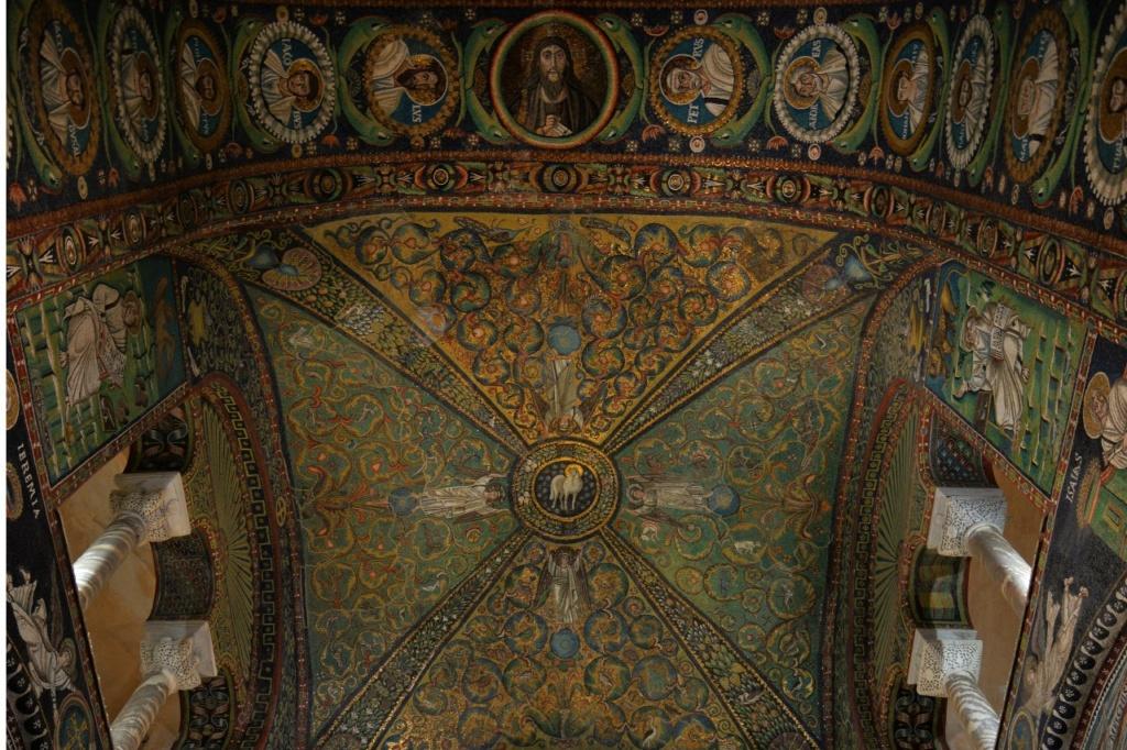 Базилика Сан Витале. Апсида.