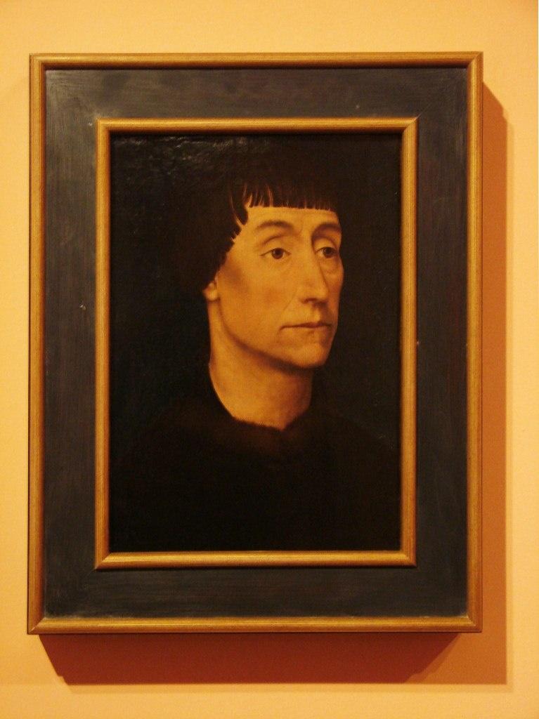 Рогир ван дер Вейден (1400-1464). Мужской портрет.