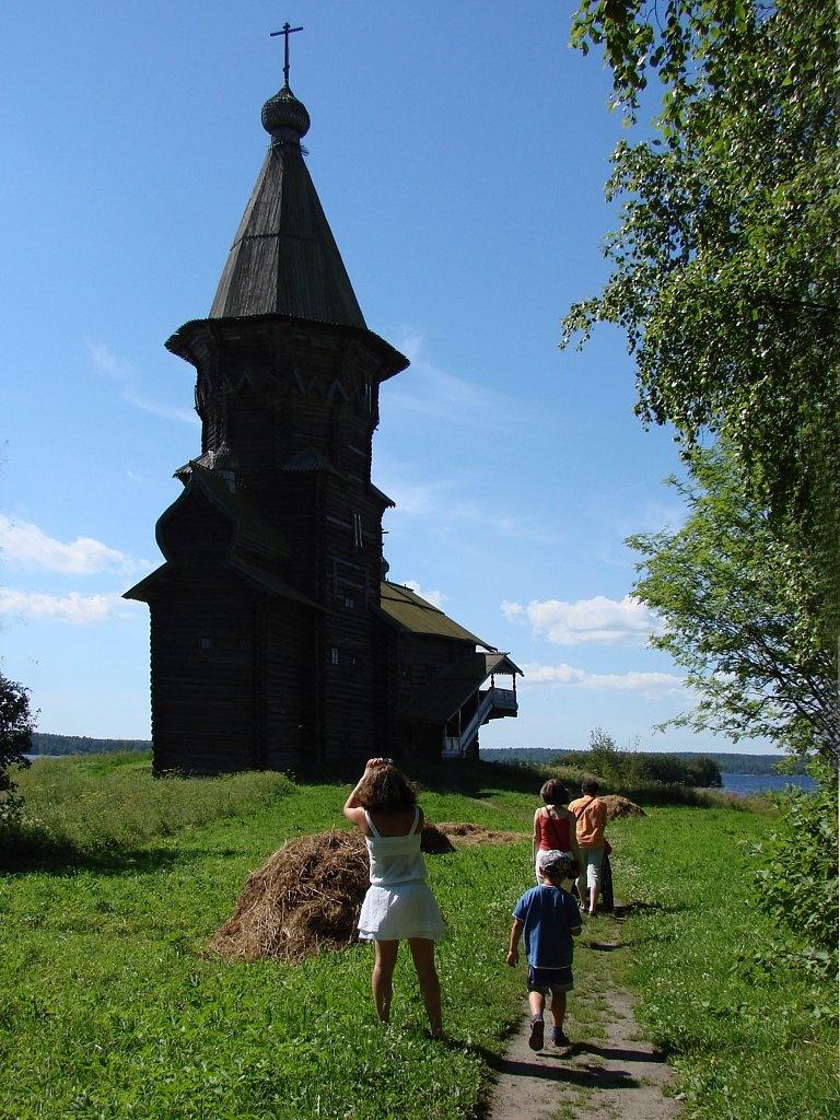 Успенская церковь в Кондопоге. 1774 год