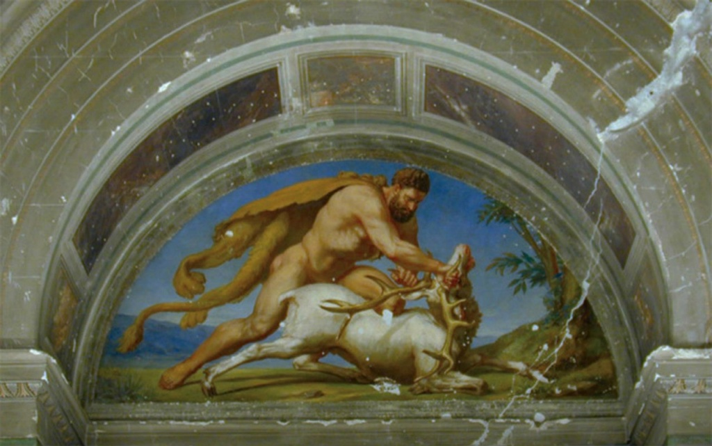 """Главный герой древнегреческой героической мифологии - сын Зевса Геракл, совершивший 12 подвигов. Третий его подвиг - пленение быстрой, как ветер, Керинейской лани... """"в XII веке до н.э."""", как утверждают каталонские историки..."""