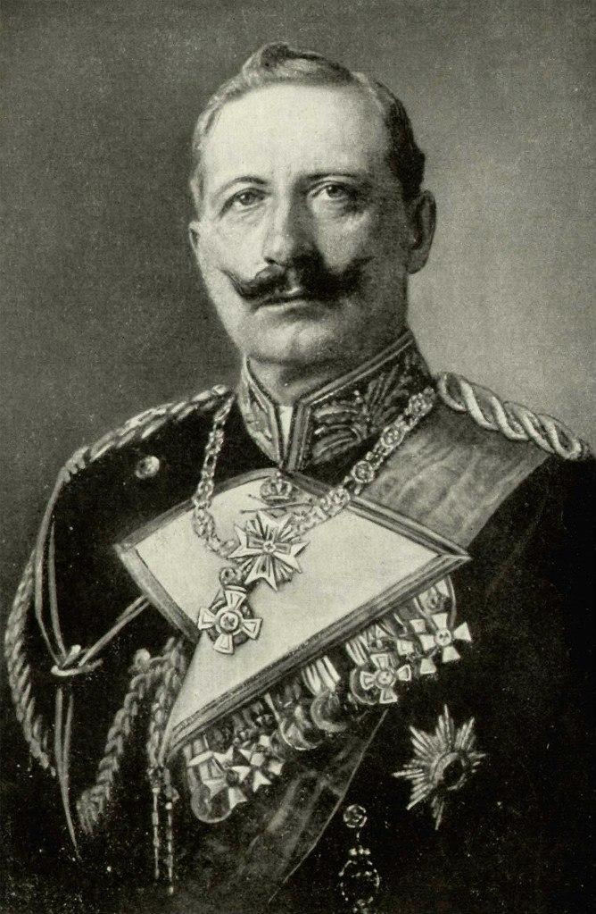 Вильгельм II (1859 — 1941) — германский император и король Пруссии с 1888 года по 1918 года. Сын германского императора Фридриха III (правившего 99 дней) и Виктории Великобританской, троюродный родственник Александра III и Николая II.