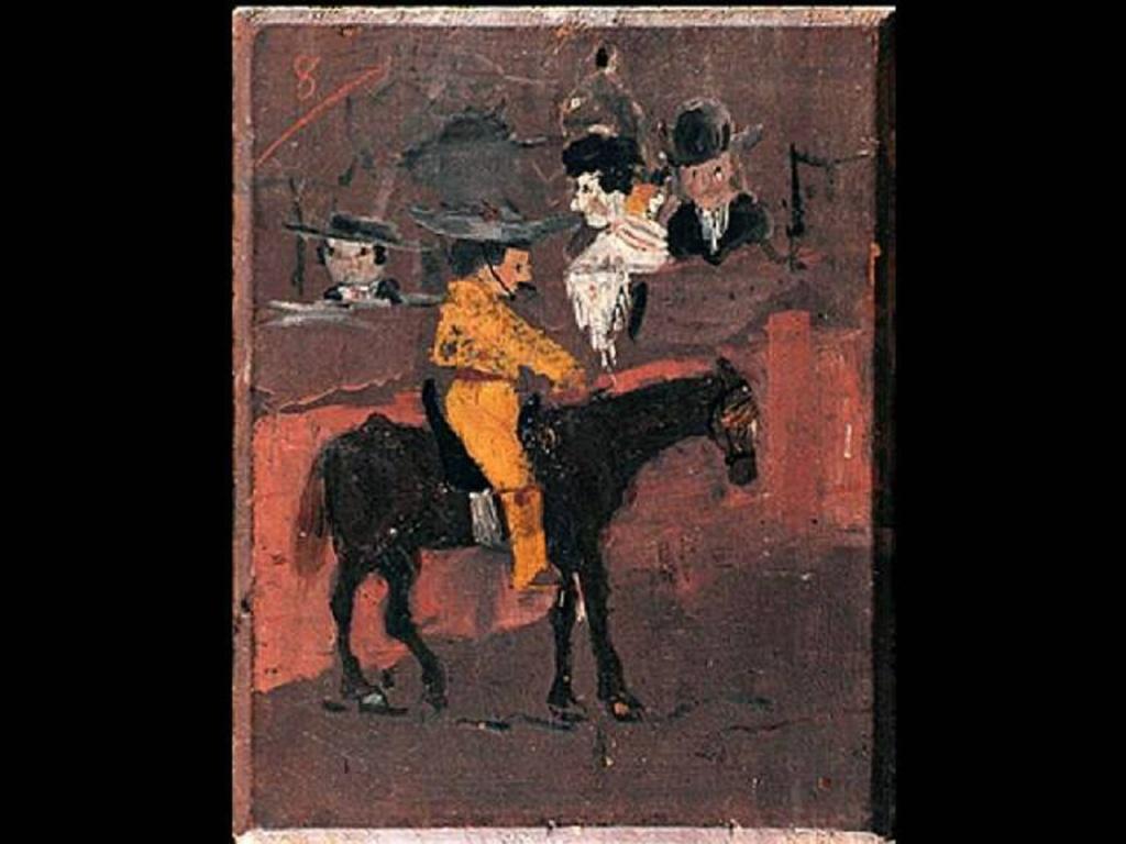"""Пабло Пикассо.. """"Пикадор"""". 1889 (художнику 8 лет)."""