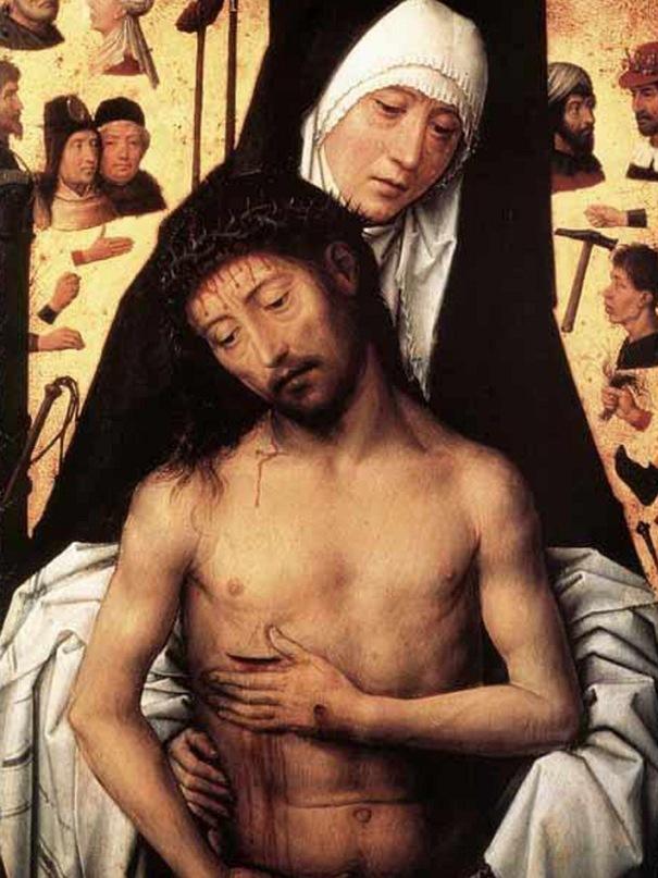 """Ганс Мемлинг. """"Муж скорбей"""". 1444-1472"""