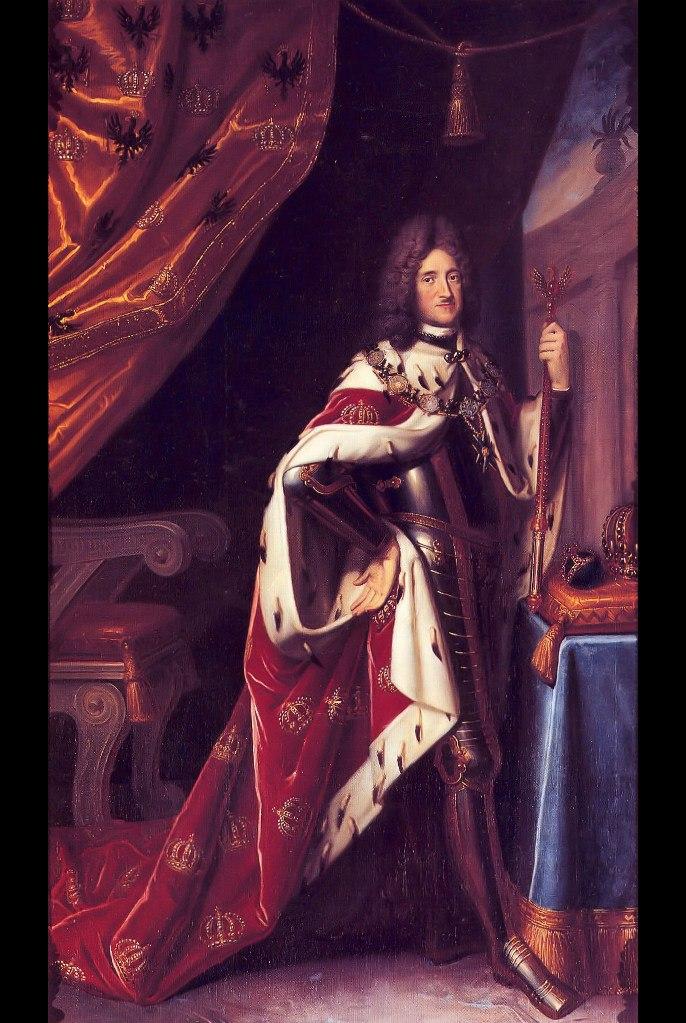 """Фридрих I (1657-1713), курфюрст Бранденбургский с 1688 г., король Пруссии (1701-1713). """"Кособокий Фридрих"""", """"досадное недоразумение, изъян в династии Гогенцоллернов"""", шедший к возвеличиванию своего дома железной поступью..."""