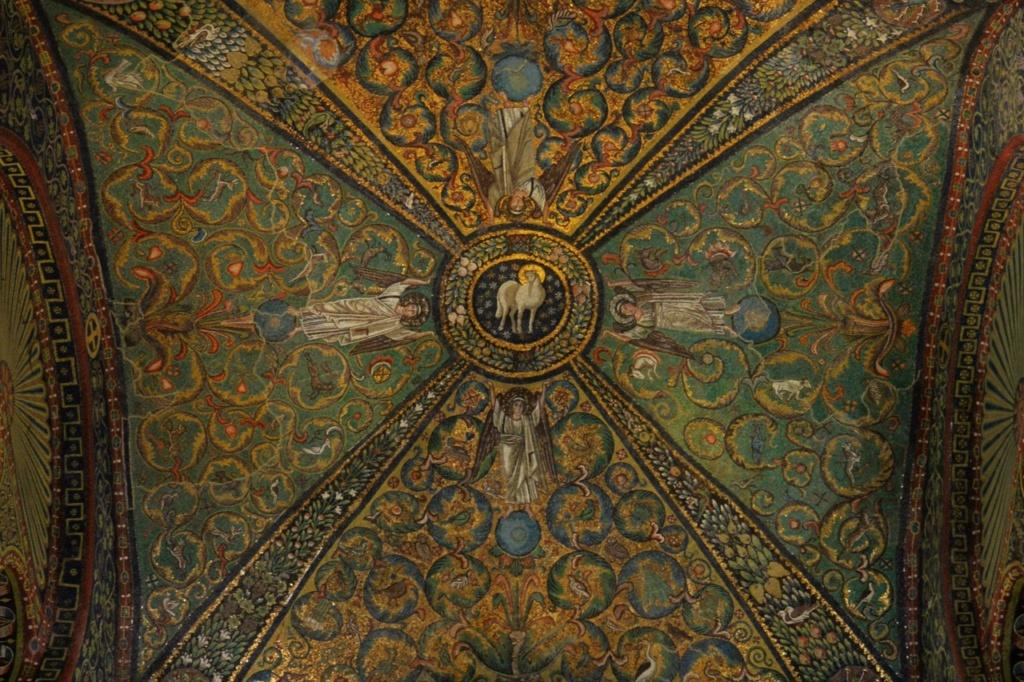Базилика Сан Витале. Свод апсиды.